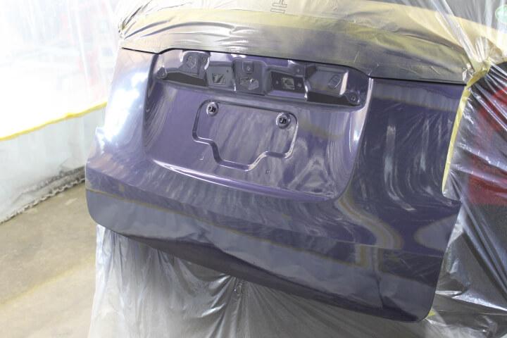 N-ONEテールゲート塗装