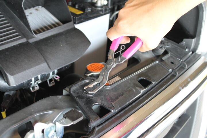 KTC クリップクランププライヤ 35度 タイヤハウス用ショートタAP208Aタイプ