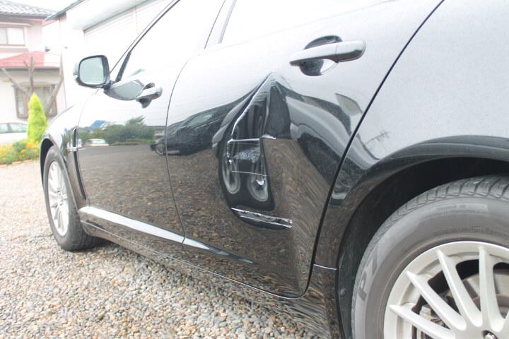 輸入車ドア鈑金修理