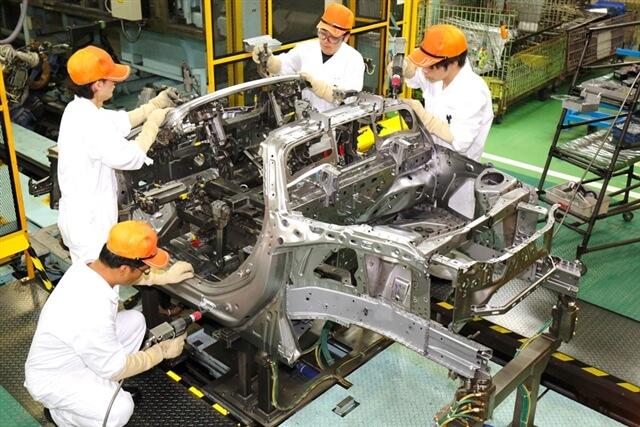 ジグ生産ライン