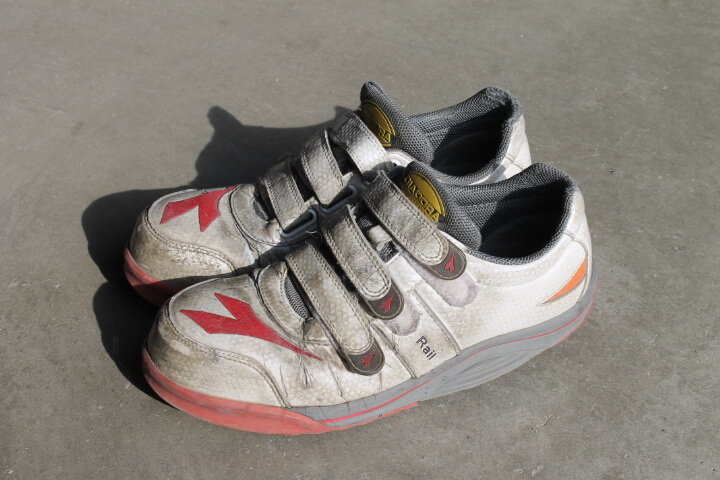 ディアドラ安全靴耐久性