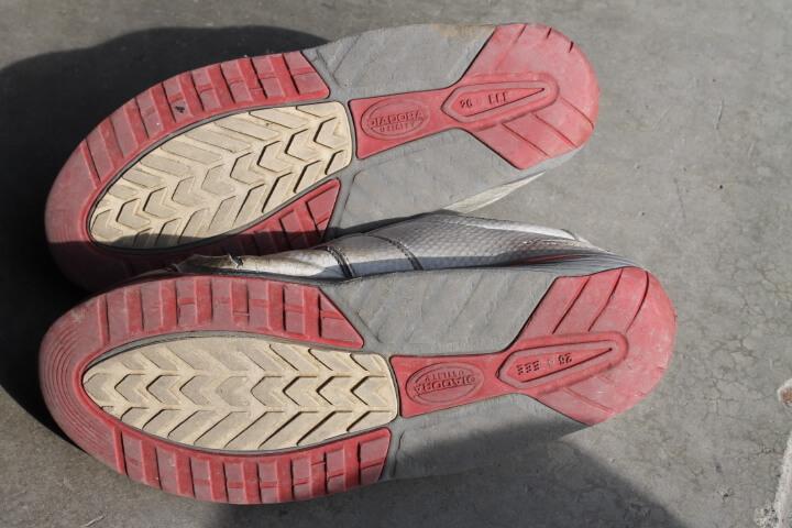 ディアドラ安全靴ソール耐久性