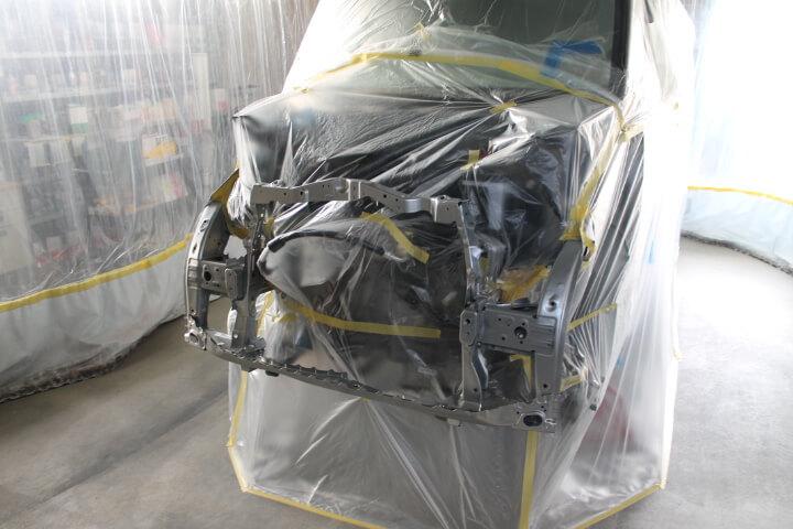 NBOX フレーム塗装