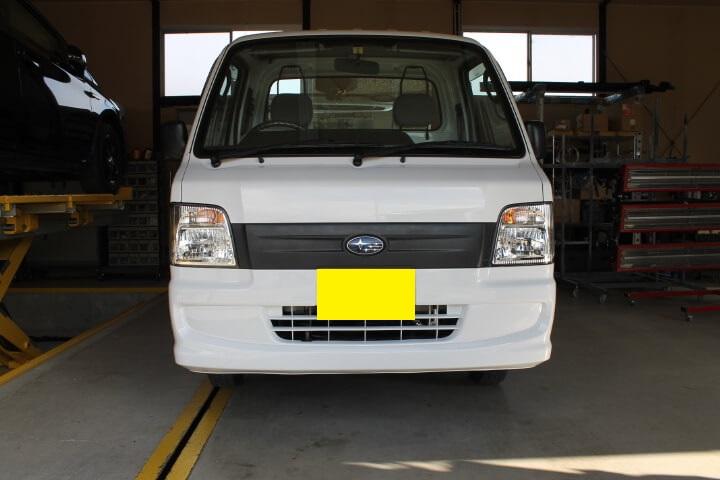 スバルサンバートラックTT2白