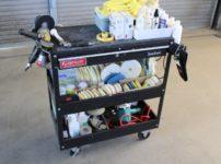 車磨き道具 ツールカート