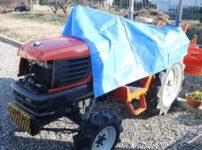 クボタトラクターの鈑金塗装修理