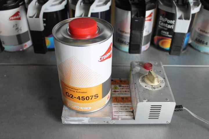 ペイントウォーマー 1L缶使い方