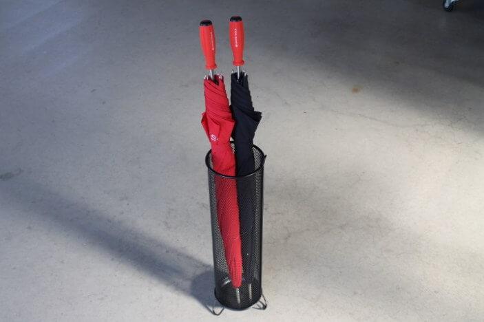 PBアンブレラ 赤 黒