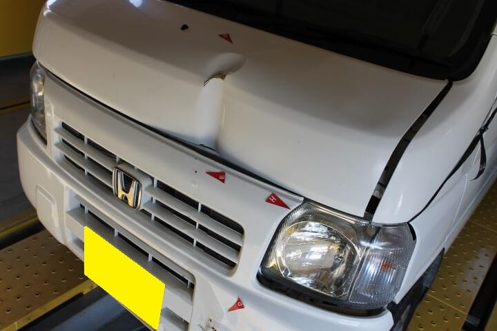 修理費用がかかるため廃車する車