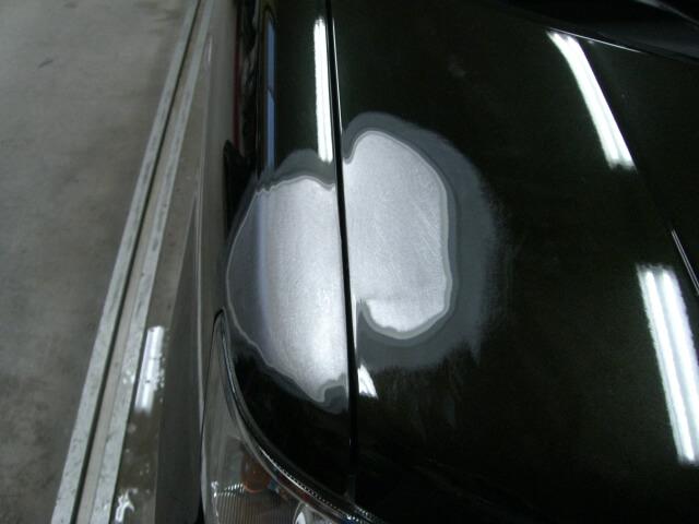 ワゴンRスティングレイ フロントフェンダー鈑金塗装