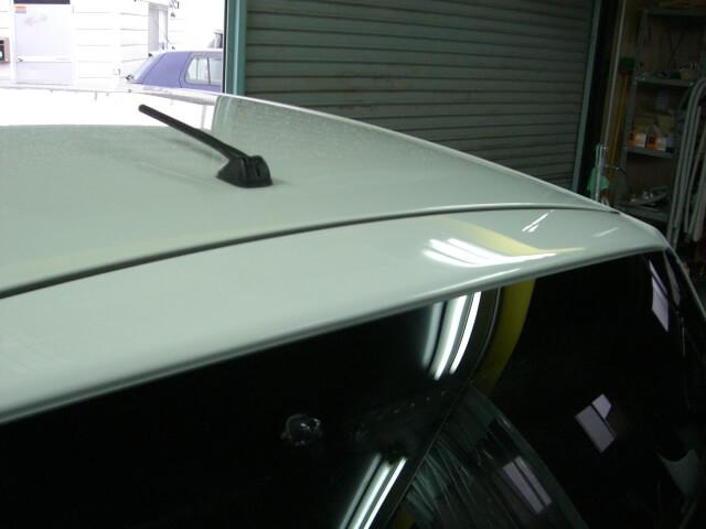 フィット リヤゲート 板金塗装完了