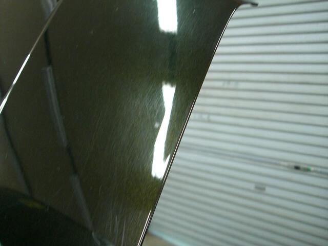 ワゴンRスティングレイ ボンネット鈑金塗装