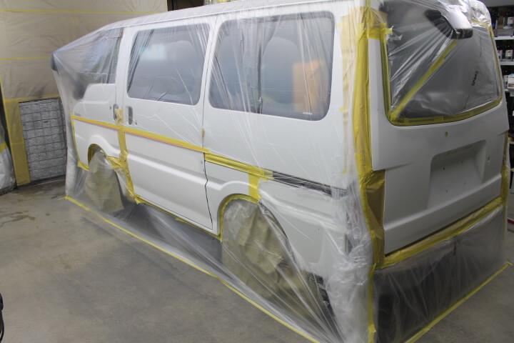 SK22MN バネット 修理塗装