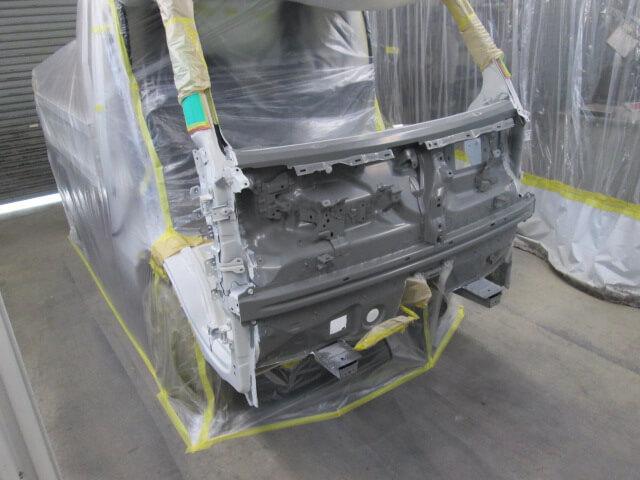S510P ハイゼットダンプ フロントパネル塗装