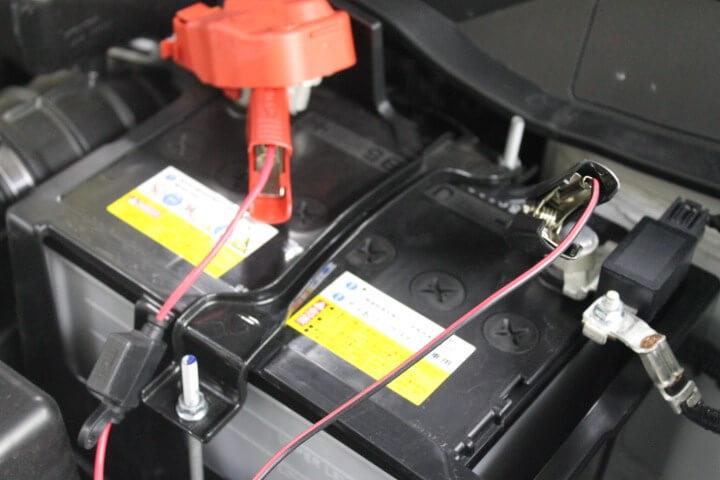 シーテック バッテリー接続