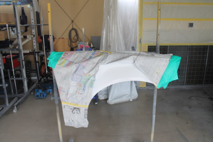 ホンダEK4シビックフェリオUSフェンダー塗装