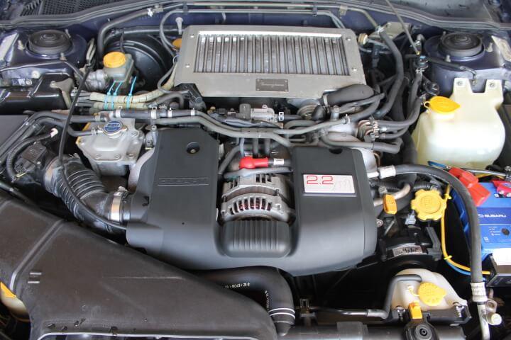 レガシィB4 トミーカイラ エンジン
