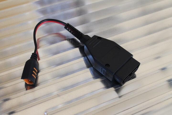 CTEK バックアップコネクター (OBD2端子) 品番WCBC12