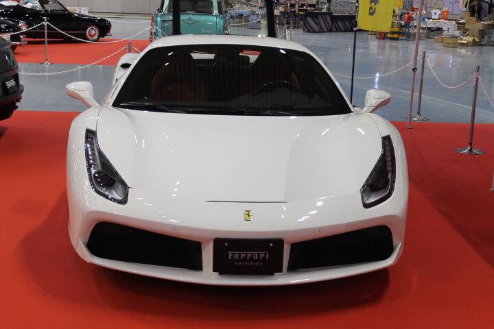 フェラーリ458白