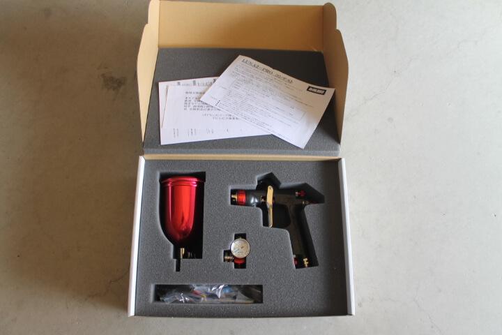 デビルビスLUNA2-PRO-3Sスプレーガンセット