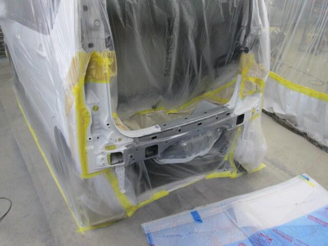 L175S ムーブ バックパネル塗装