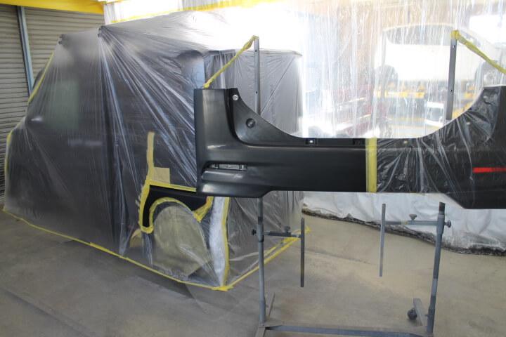 LA610S タント バンパー部分塗装