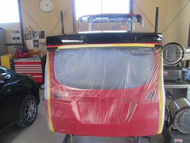 MA36S ソリオバンデットI リヤゲート塗り分けブラック