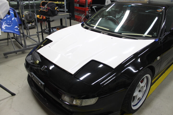 SW20 MR2 ボーダーボンネット
