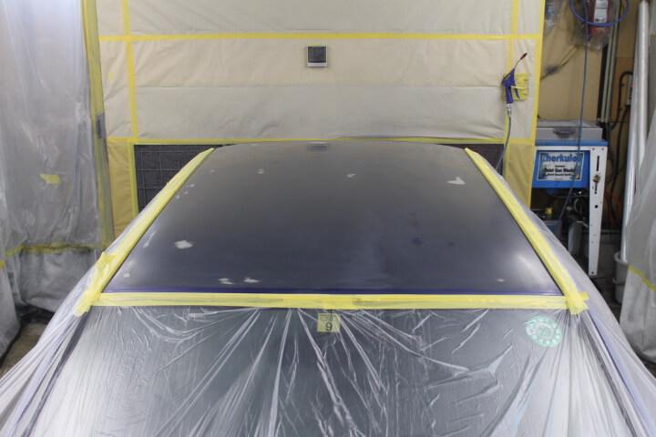 kw3ヴィヴィオ 屋根塗装