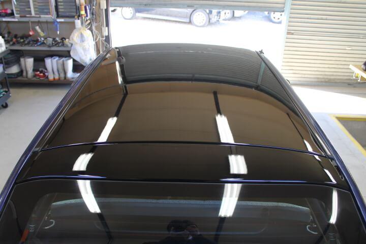 kw3ヴィヴィオ 屋根塗装ブラック