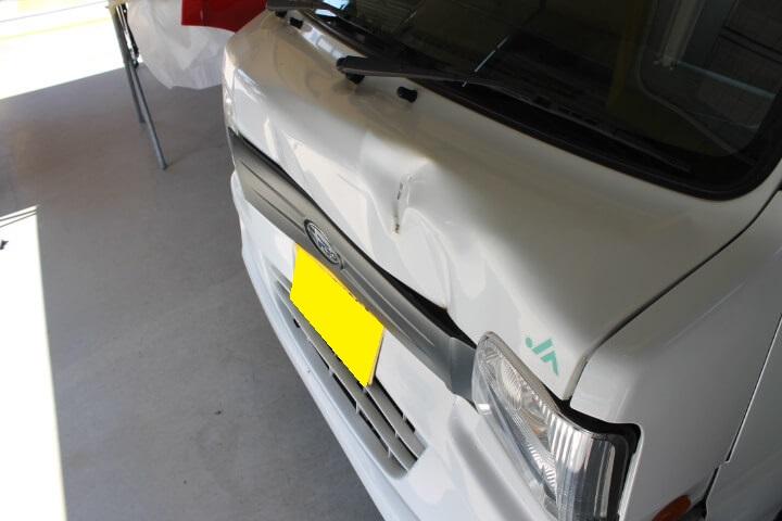 スバル・サンバートラック事故車買取