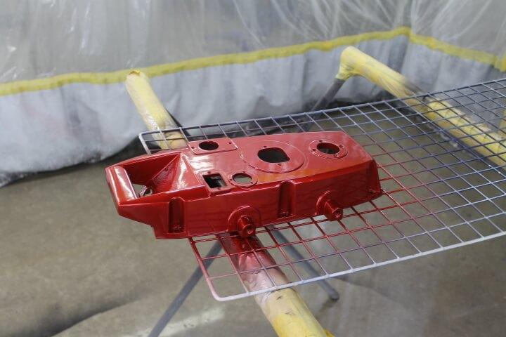 マツダ41Vに塗装