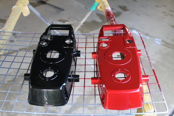 マツダ41Wと41Vに塗装