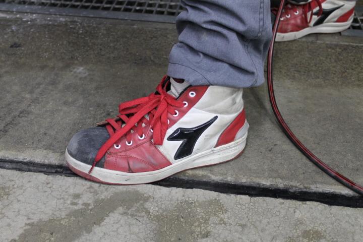 ディアドラ安全靴ハイカット