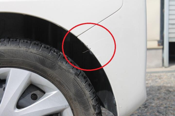 DAIHATSU LA610S タント 車両保険修理