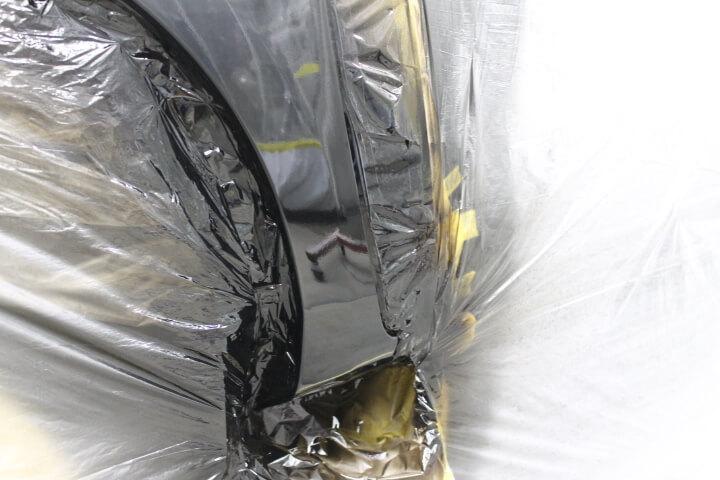トヨタZGM15アイシスのフェンダー板金塗装