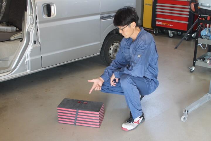 KTC 自動車整備用寝板メカニックマット AYM-1