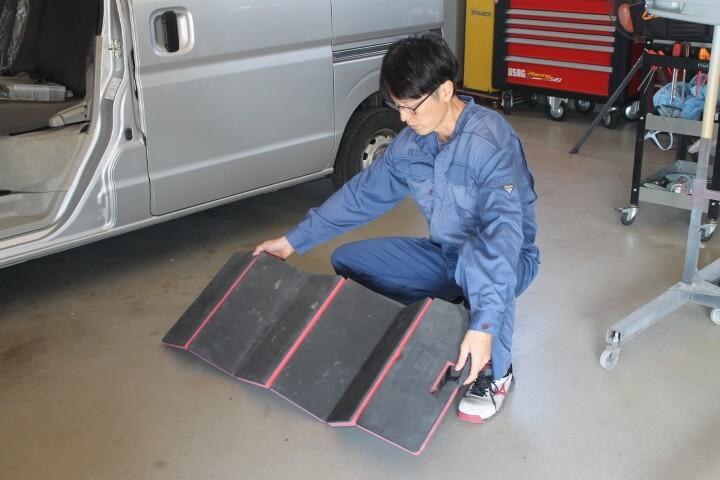 KTC 自動車整備用寝板メカニックマット AYM-1 口コミ
