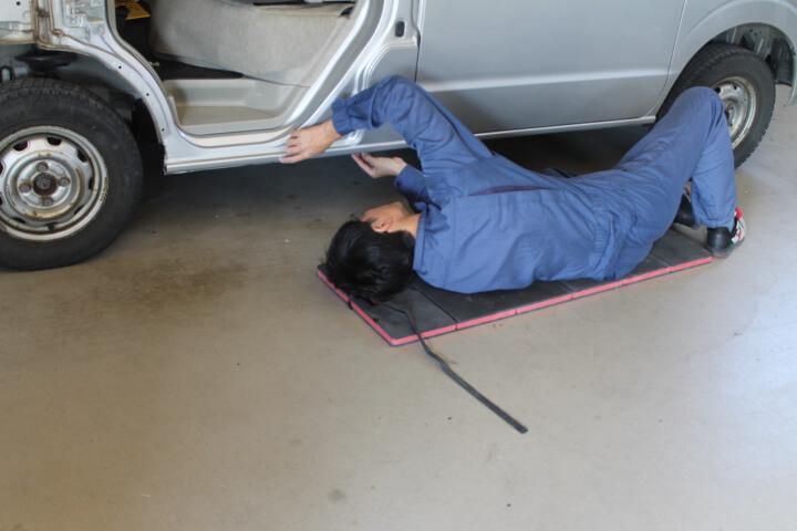 KTC 自動車整備用寝板メカニックマット AYM-1 使い方