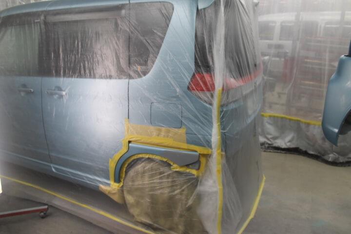 スズキMA15Sソリオ 修理塗装