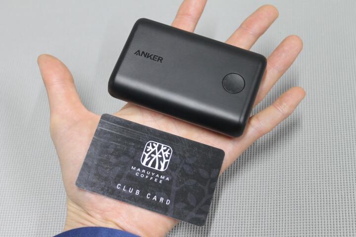 Anker PowerCore II 10000 (10000mAh 大容量 モバイルバッテリー)【PowerIQ 2.0 / LED Wheel搭載】iPhone&Android対応 (ブラック)買いました
