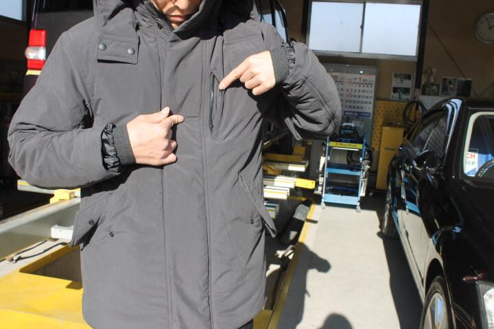 オアシス スーツ型作業着 ウォームコート口コミ
