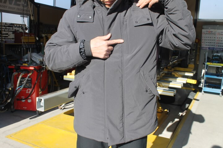 オアシス スーツ型作業着 ウォームコート