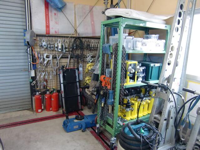 工場設備 整理整頓