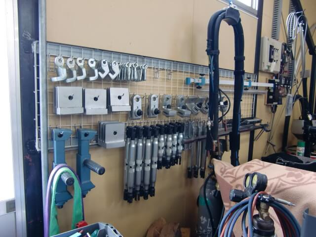 工場設備 壁掛け式 整理整頓