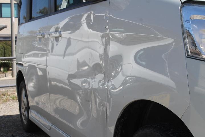 MK32S スペーシアカスタム 右フェンダー、ドア取替