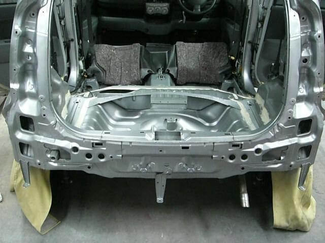 KGC15 パッソ 事故車修理完成