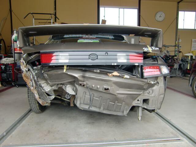 S14シルビア 事故車修理