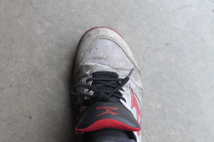ミズノ安全靴耐久性