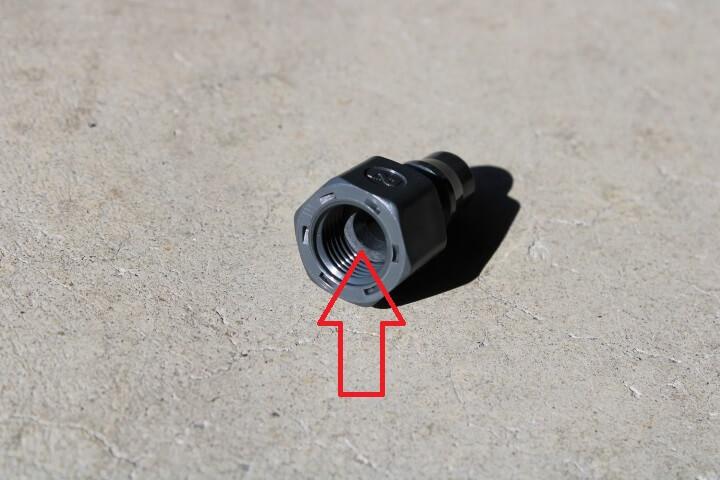 日東工器 樹脂製プラグ 20PFF-PLA G1/4